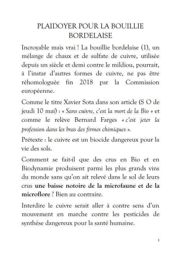 LA GUERRE CONTRE LA BOUILLIE BORDELAISE ET LA BIO_001